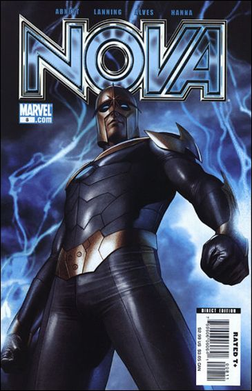 Nova (2007) 8-A by Marvel