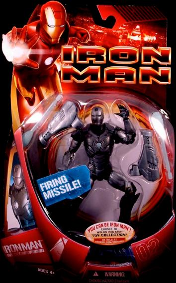 Iron Man (Movie) Iron Man (Mark 02 - Gray) by Hasbro