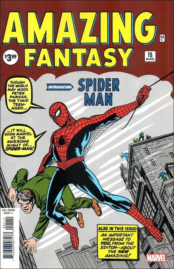 Amazing Fantasy (1962) 15-H by Marvel