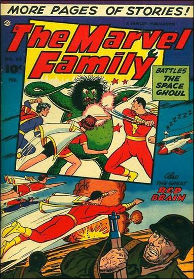 Marvel Family 80-A by Fawcett