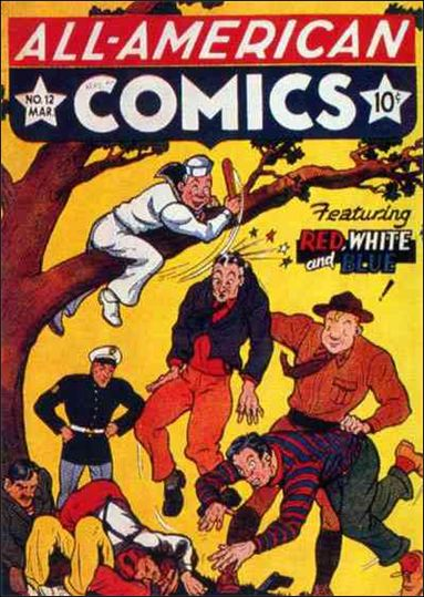 All-American Comics (1939) 12-A by DC