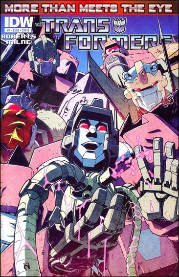 Transformers: More Than Meets the Eye (2012) 7-B by IDW