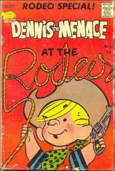 Dennis the Menace (1953) 61-A by Standard