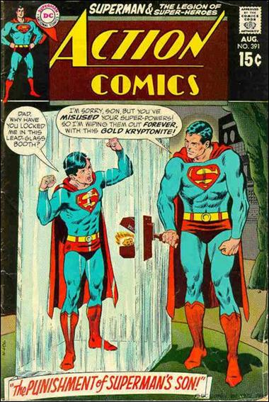 Action Comics (1938) 391-A by DC