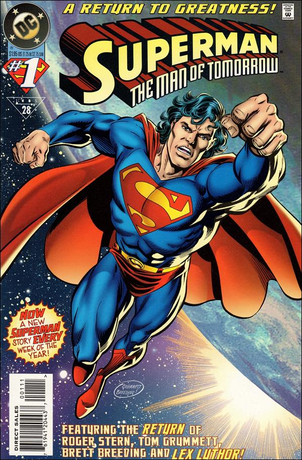 Superman: The Man of Tomorrow 1-A by DC