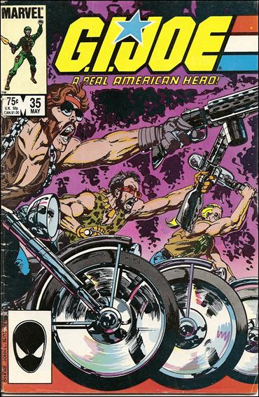 G.I. Joe: A Real American Hero 35-A by IDW