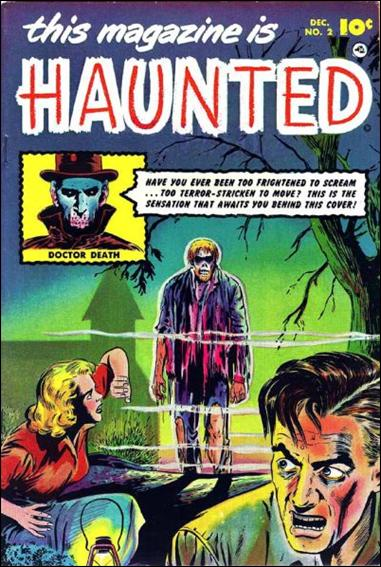 This Magazine is Haunted (1951) 2-A by Fawcett