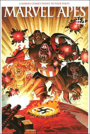 Marvel Apes 4-B by Marvel