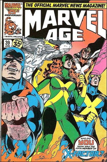 Marvel Age 39-A by Marvel