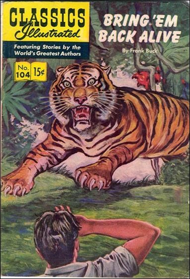 Classic Comics/Classics Illustrated 104-A by Gilberton