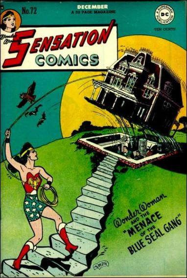 Sensation Comics (1942) 72-A by DC