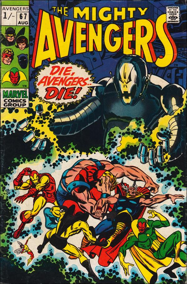 Avengers (1963) 67-B by Marvel