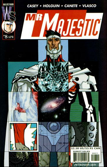 Mr. Majestic 8-A by WildStorm