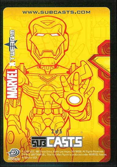 2007 Marvel Masterpieces (Subcasts Gamepiece Subset) 2-A by Upper Deck