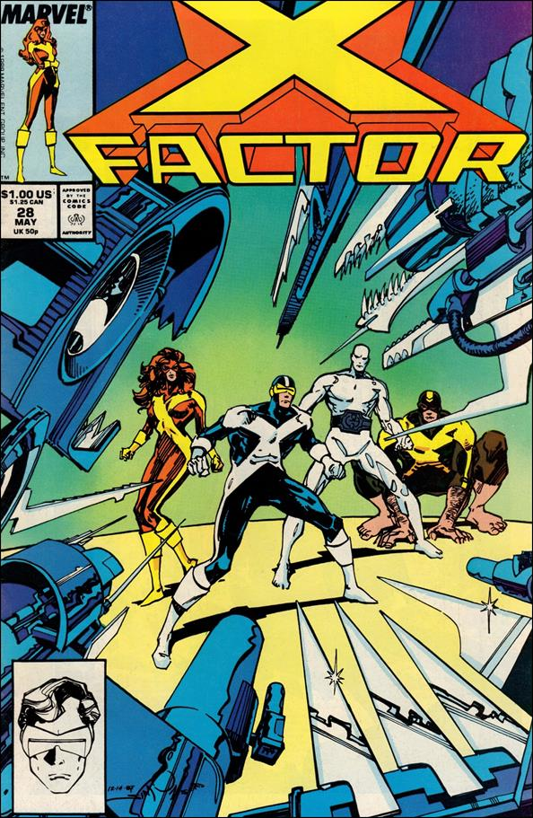 X-Factor (1986) 28-A by Marvel