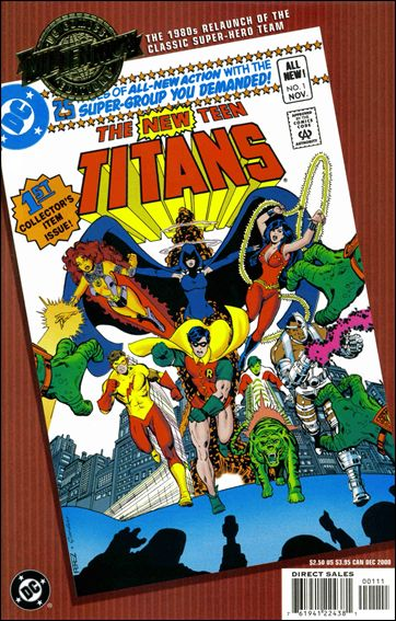 Millennium Edition: The New Teen Titans 1-A by DC