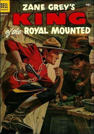 King of the Royal Mounted 17-A