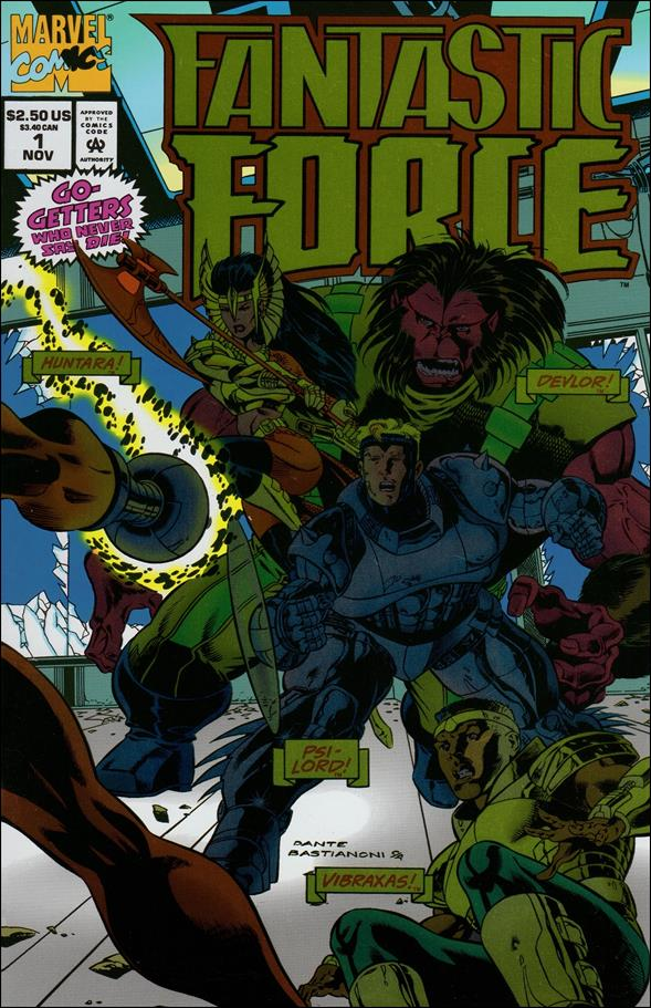 Fantastic Force (1994) 1-A by Marvel