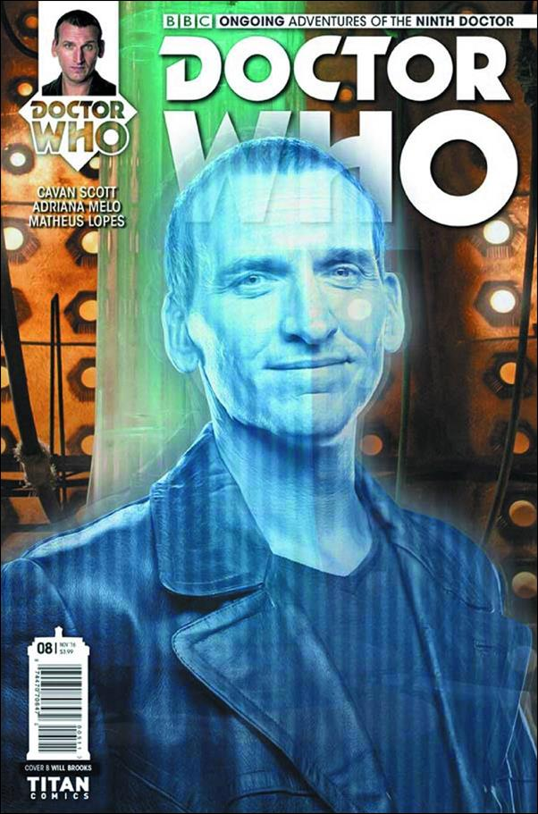 Doctor Who: The Ninth Doctor (2016) 8-B by Titan