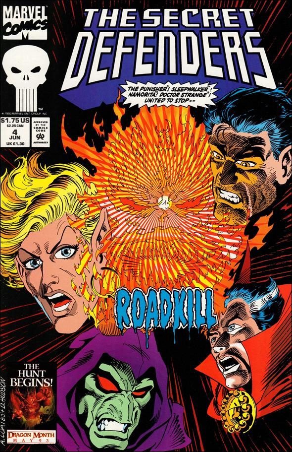 Secret Defenders 4-A by Marvel