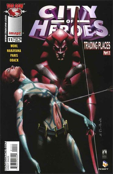 City of Heroes (2005) 11-A by Top Cow