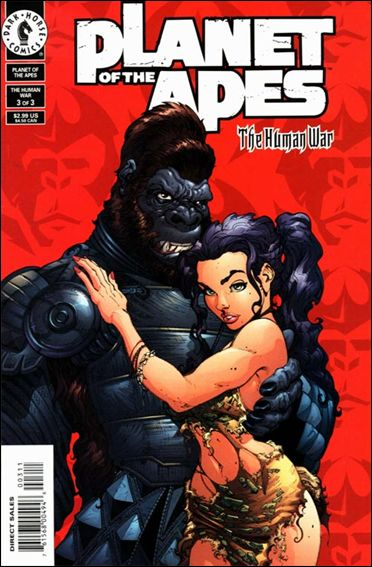 Planet of the Apes (2001/06) 3-A by Dark Horse