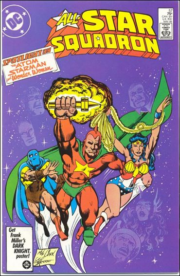All-Star Squadron 57-A by DC