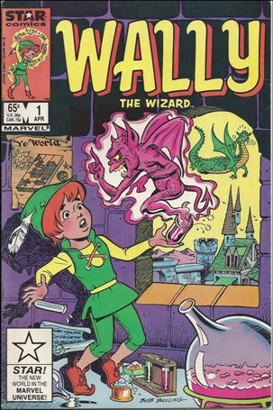 Wally the Wizard 1-B