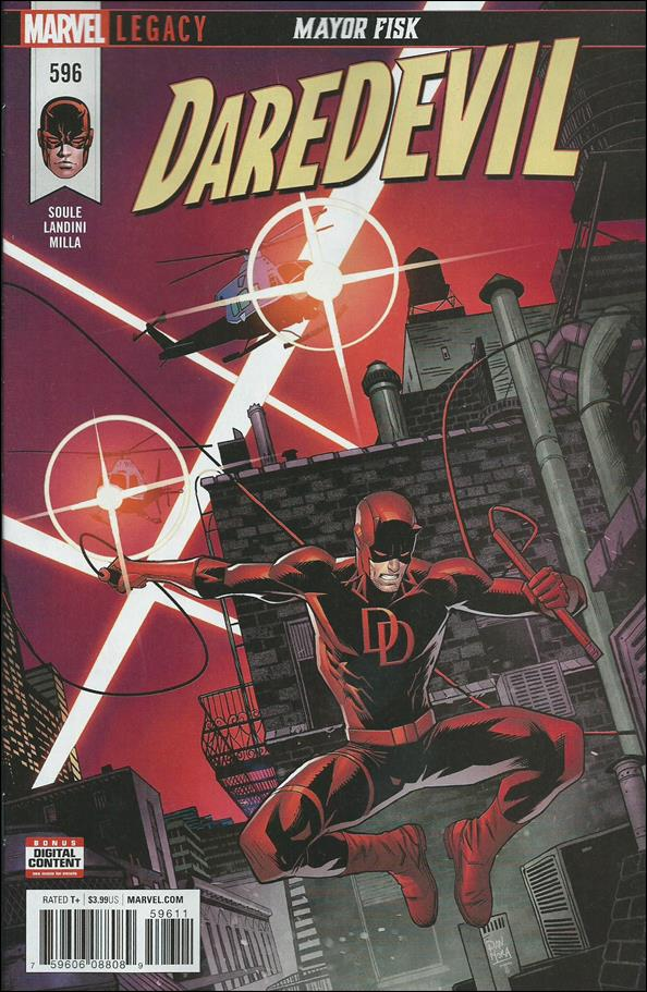 Daredevil (1964) 596-A by Marvel