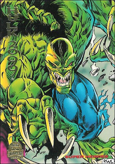 Marvel Universe: Series 5 (Base Set) 176-A by Fleer