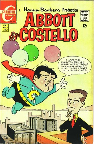 Abbott and Costello (1968) 3-A by Charlton