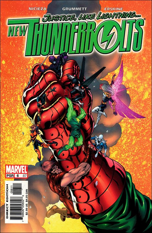 New Thunderbolts 6-A by Marvel