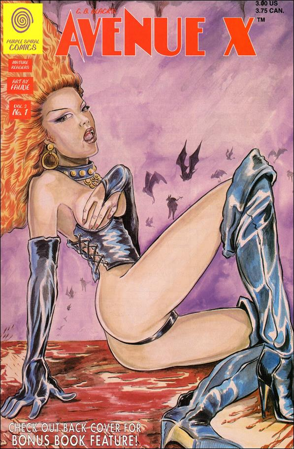 Avenue X (1994) 1-A by Purple Spiral Comics