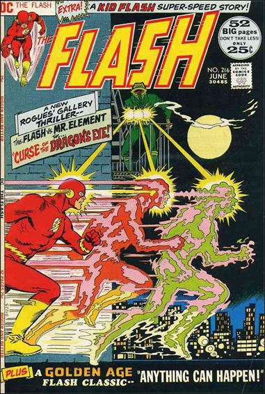 Flash (1959) 216-A by DC