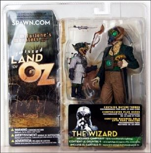 Twisted Land Of Oz The Wizard