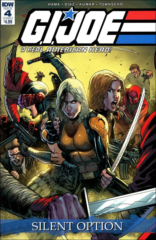 G.I. Joe: A Real American Hero: Silent Option 4-A by IDW
