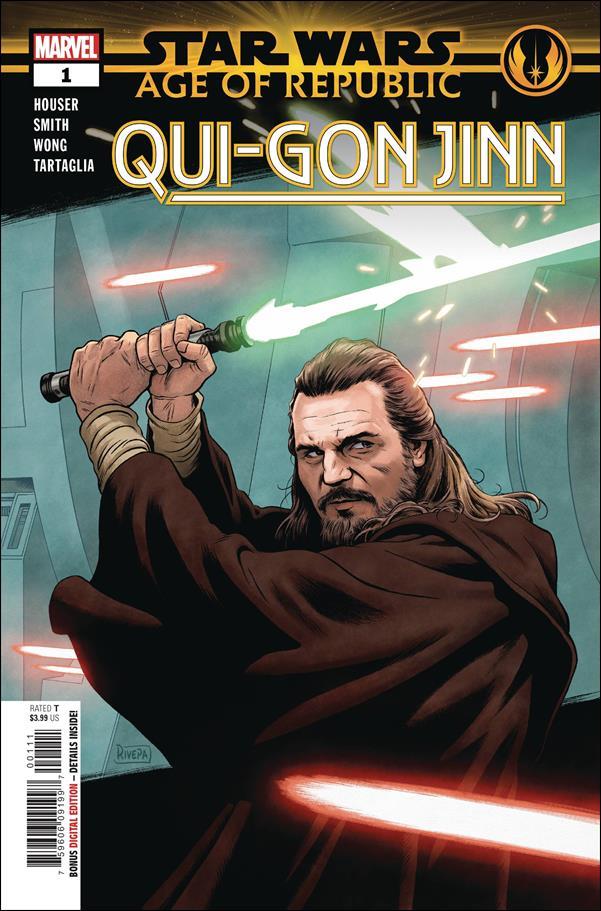 Star Wars: Age of Republic - Qui-Gon Jinn 1-A by Marvel
