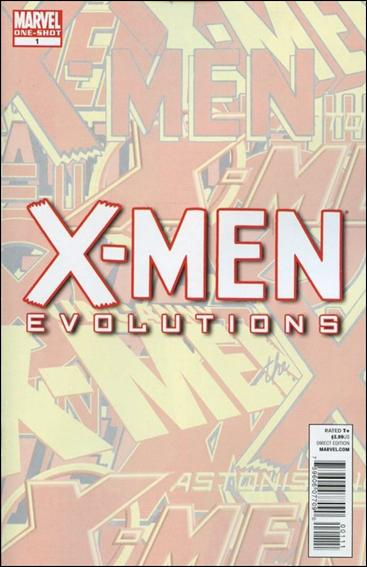 X-Men Evolutions 1-A by Marvel