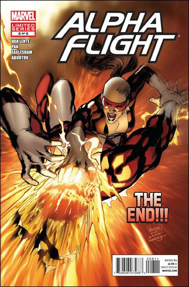 Alpha Flight (2011) 8-A by Marvel