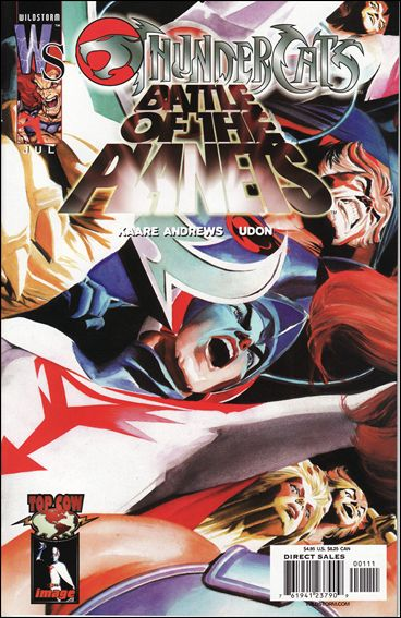 Thundercats/Battle of the Planets 1-A by WildStorm