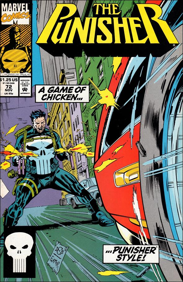 Punisher (1987) 72-A by Marvel