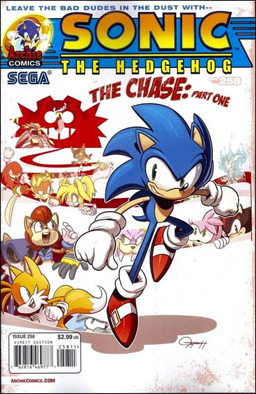 Sonic the Hedgehog (1993) 258-A by Archie
