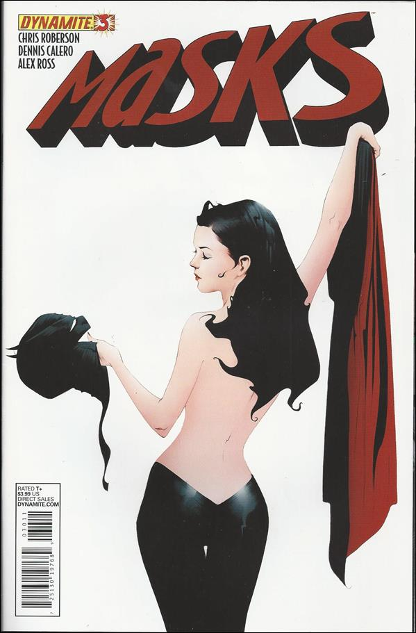 Masks 3-C by Dynamite Entertainment