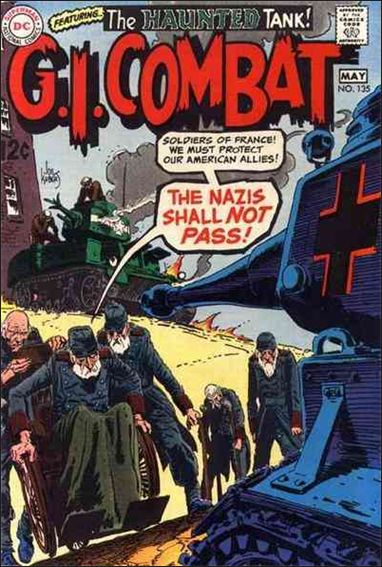 G.I. Combat (1952) 135-A by DC