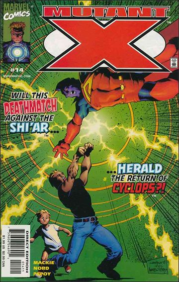 Mutant X 14-A by Marvel