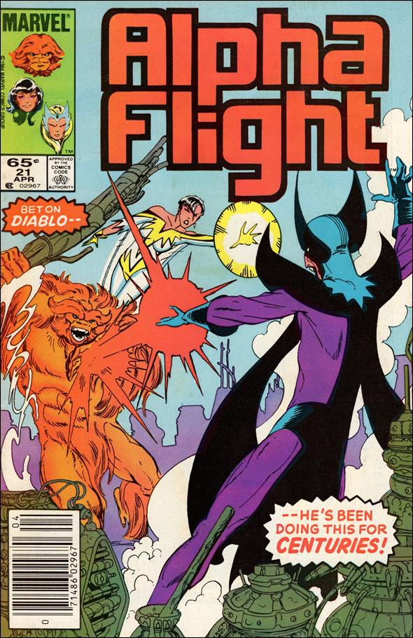 Alpha Flight (1983) 21-A by Marvel