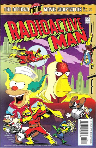 Radioactive Man (2000) 8-A by Bongo