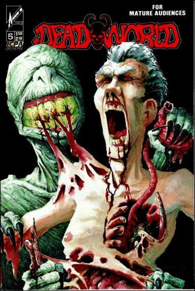 Deadworld (1986) 5-B by Caliber