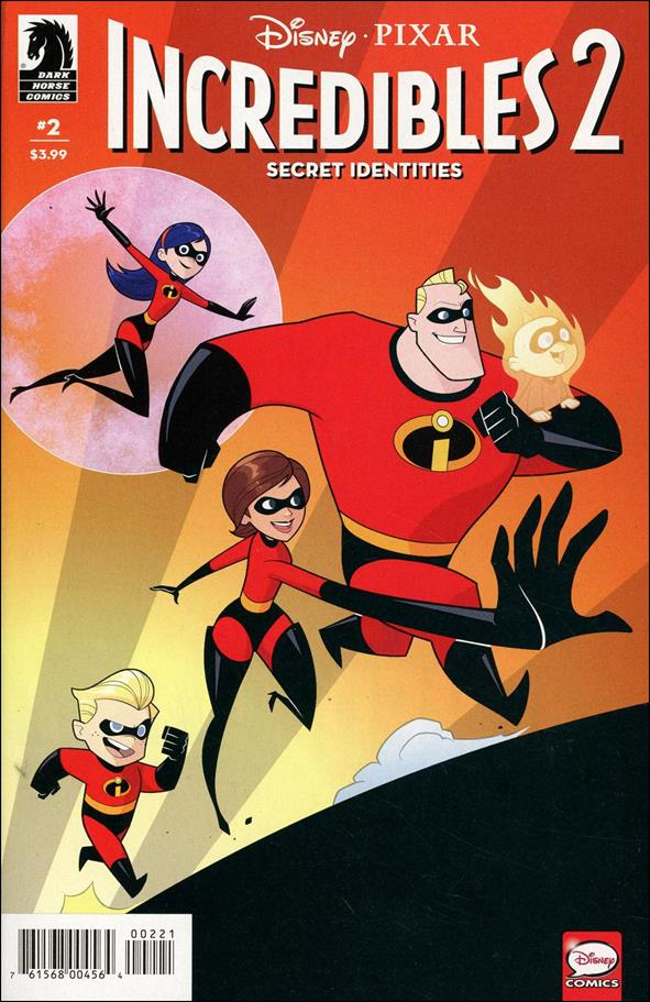 Incredibles 2: Secret Identities 2-B by Dark Horse
