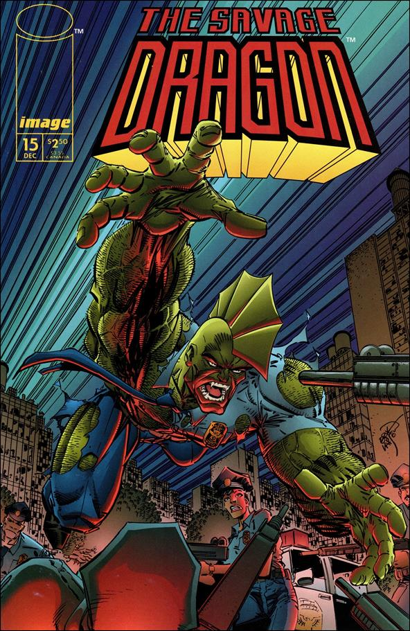 Savage Dragon (1993) 15-A by Image